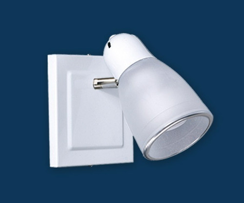 spot 1 luz blanco cabezal movil e27 apto led bulbo