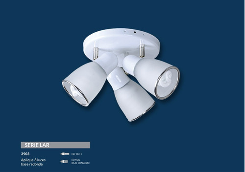 spot 2 luces blanco cabezal movil e27 apto led bulbo
