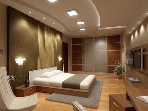 spot cuadrado de embutir techo + lámpara luz led 7w gu10