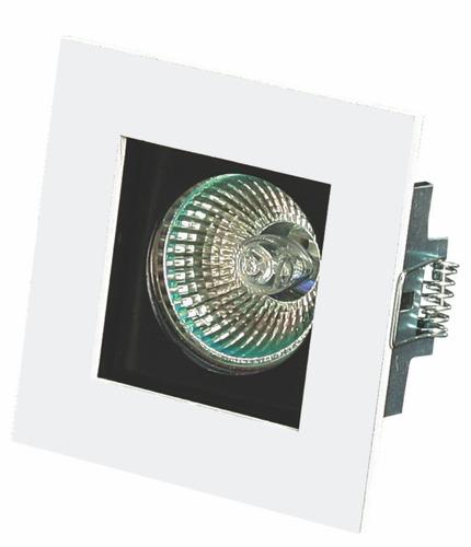 spot de embutir quad modular móvel p/ lamp. dicroica