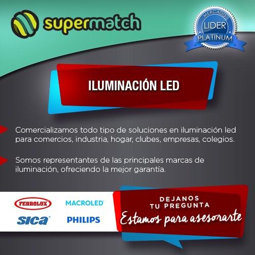 spot embutir 110mm + dicroica led 7w 220v envio gratis x10u.
