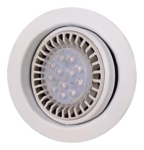 spot embutir ar111 blanco lampara led 12w dim gu10 220v