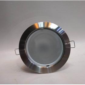 Spot Embutir Regulable Acero C/vidrio E27 Xc Iluminacion