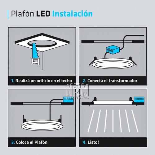 spot iluminacion techo