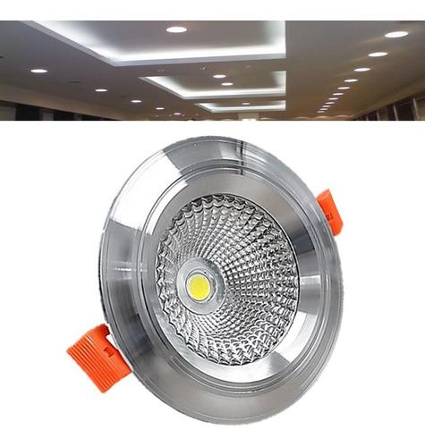 spot led 9w cob empotrable luces foco casa hogar oficina