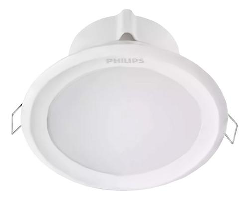 spot led embutir philips downlight 5w calida neutra