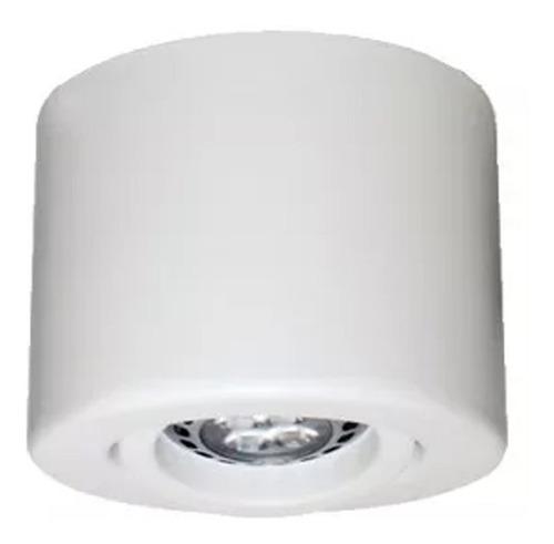 spot led exterior 5w superficial p/ caja octogonal x10