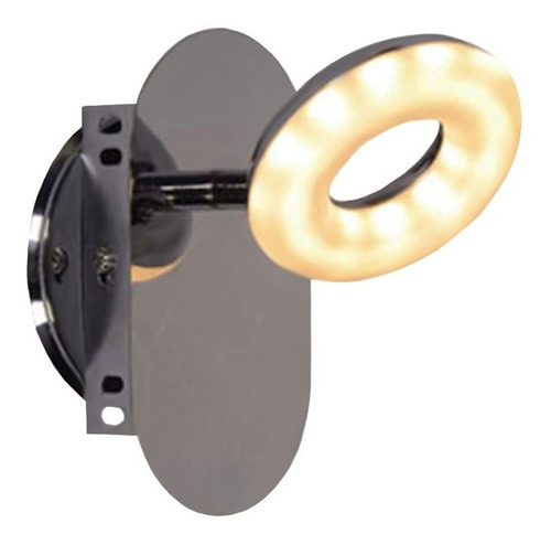 spot plafon 1 luz pared platil dona candil 5w