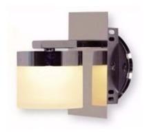 spot plafon 1 luz pared platil megan candil 4,2w