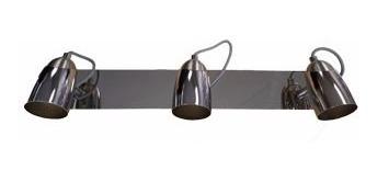 spot plafon 3 luces pared techo platil konus gu10