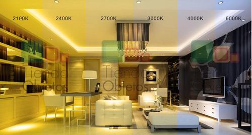 spot plafon moderno 2 luz pared platil cap candil 8,4w
