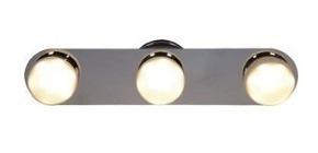 spot plafon moderno 3 luces pared platil bola candil 15w