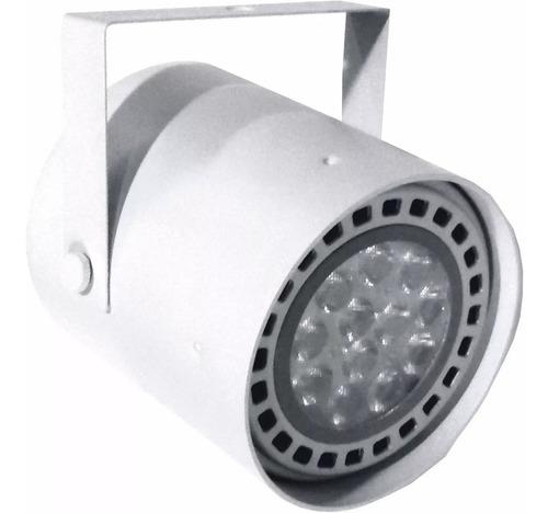 spot tacho ar111 ideal riel + foco led ar111 dimerizable 12w