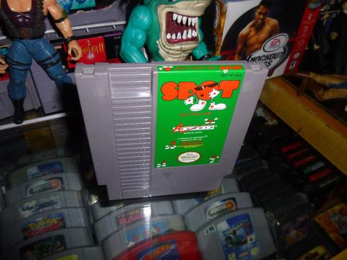 spot the videogame nintendo nes cartucho