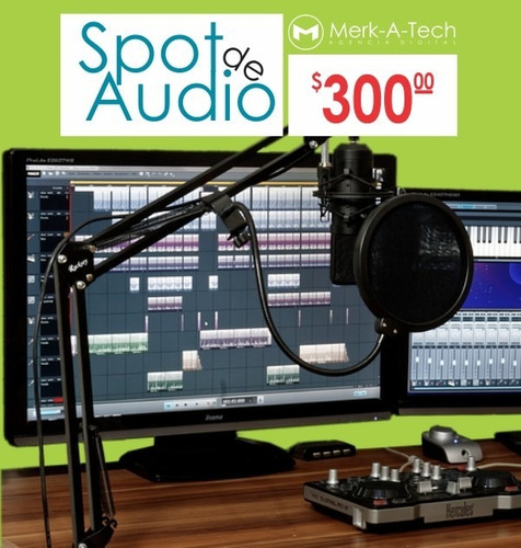 spots de audio para perifoneo o radio