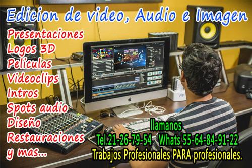 spots, presentacion sonidera audio y video logos 3d samplers