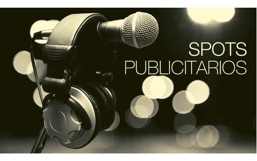 spots publicitarios para marca,eventos o perifoneo