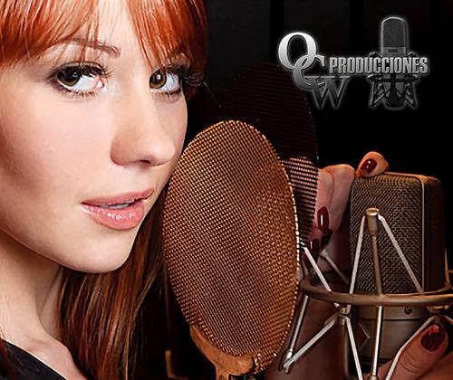spots publicitarios radio y perifoneo voz femenina