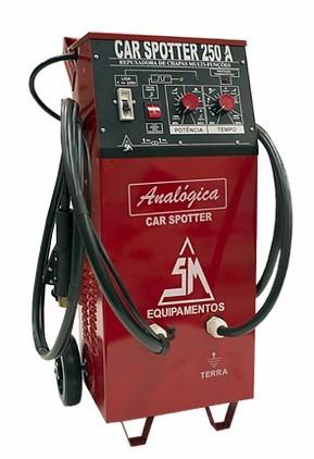 spotter repuxadeira de chapas analógica car spotter 250a