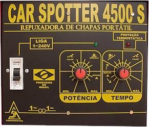 spotter repuxadeira de chapas portátil car spotter 4500s