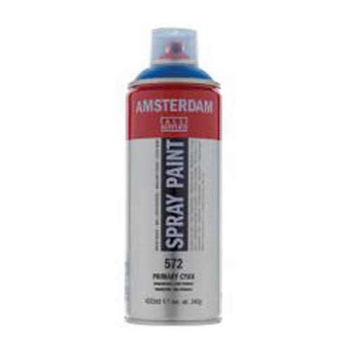 spray acrílico, amsterdam, 400 ml azul ult. vio # 50