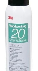 spray adhesivo 3m woodworking 20 - para madera - oferta