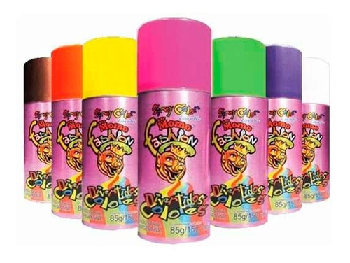 spray aerosol color rey momo fashion lavable 85g