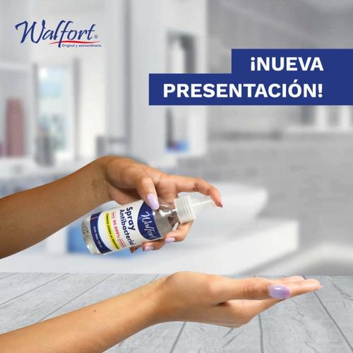 spray antibacterial desinfectante walfort para manos 150ml