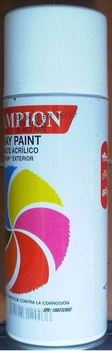 spray blanco mate champion
