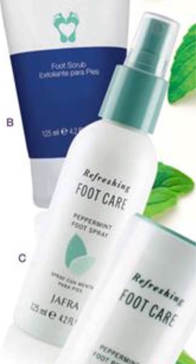 peppermint foot care