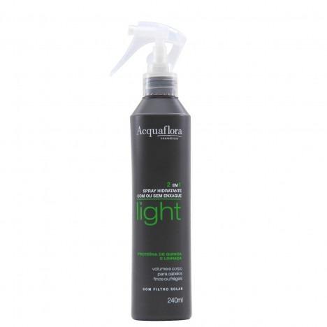 spray condicionador 2 em 1 acquaflora light