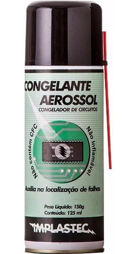 spray congelante aerossol para localização de falhas + nf