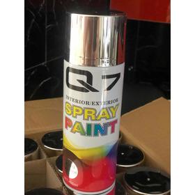 Spray Cromo Plata Tipo Espejo Alta Gama Q-7