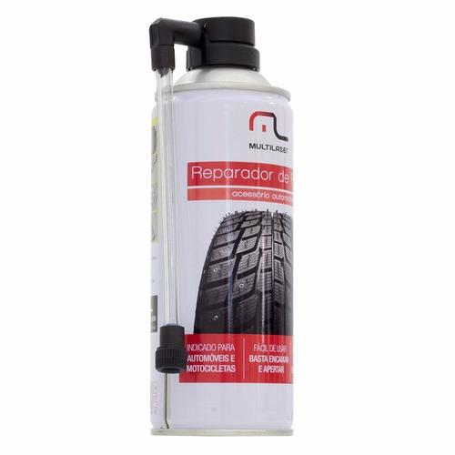 spray de reparo pneu furado selante conserto instantaneo