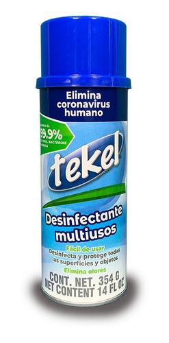 spray desinfectante antiviral y antibacterial  1 pieza