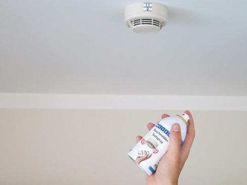 spray detector de humo sistema contra incendio