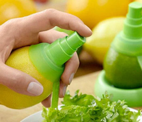 spray exprimidor de limón, naranja, pomelo. ¡ mira el video!