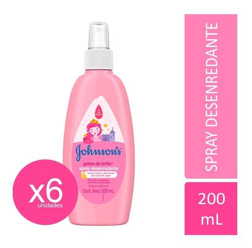 spray gotas de brillo johnson's® baby x 6 unid