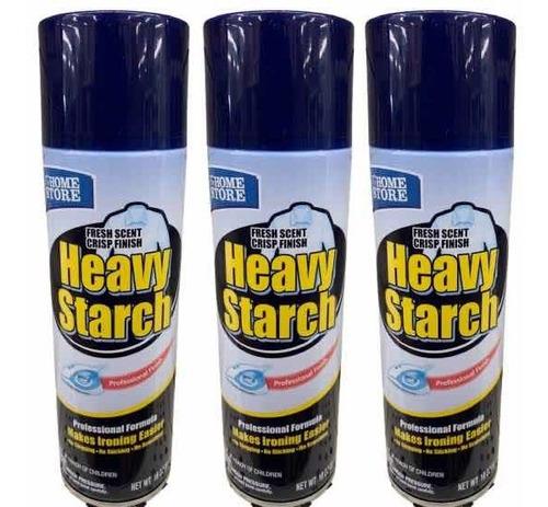 spray heavy starch amaciante p/ passar roupa 510ml eua