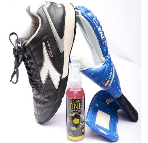 spray inhibidor de olores guantes de arquero security one