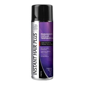 Spray Instant Hair Plus Preto Maquiagem Para Calvície 300ml