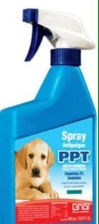 spray + jabon barra antipulga piojo garrapata perro gato e4f