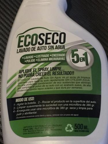 spray lavado en seco sin agua del coche rinde.x5 autos