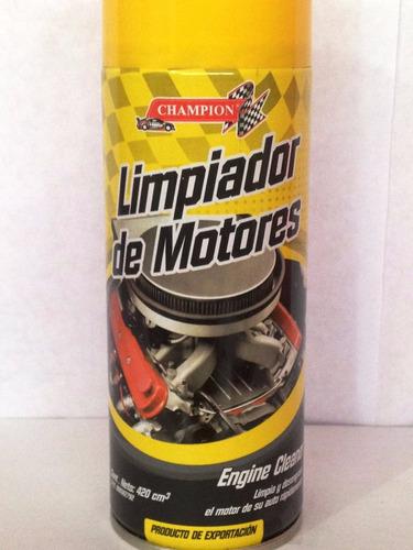 spray limpiador de motor - champion remate invicta