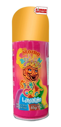 spray pinta pelo colores - ciudad cotillón