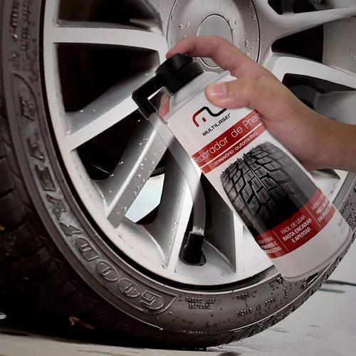 spray reparador  pneu selante carro moto emergencia