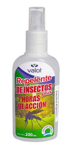 spray repelente para mosquitos x 200ml | valot oficial