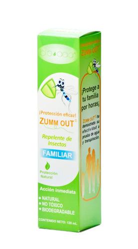 spray repelente zumm out 120ml.