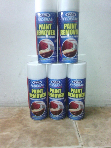 spray tumba pintura removedor 400 ml federal
