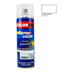 Spray Verniz Automotivo Colorgin 300ml Transp E Brilhante
